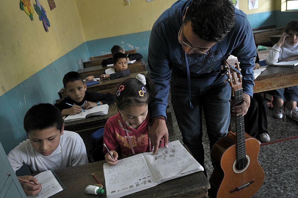 La Secretaría de Educación plantea desarrollar 40 programas estratégicos en el cuatrienio. / Gabriel Aponte